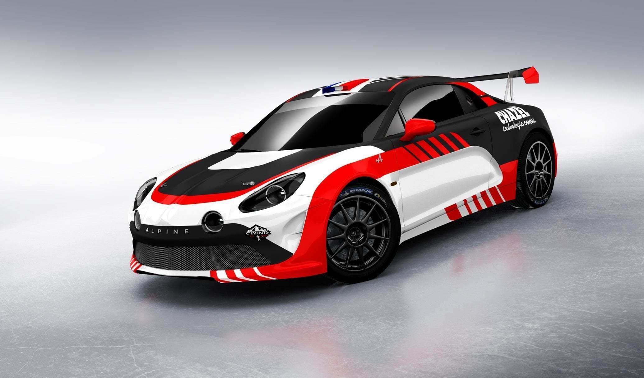 Alpine RGT CHAZEL 1   Le Team Chazel Technologie Course engagera une Alpine A110 R-GT en 2020