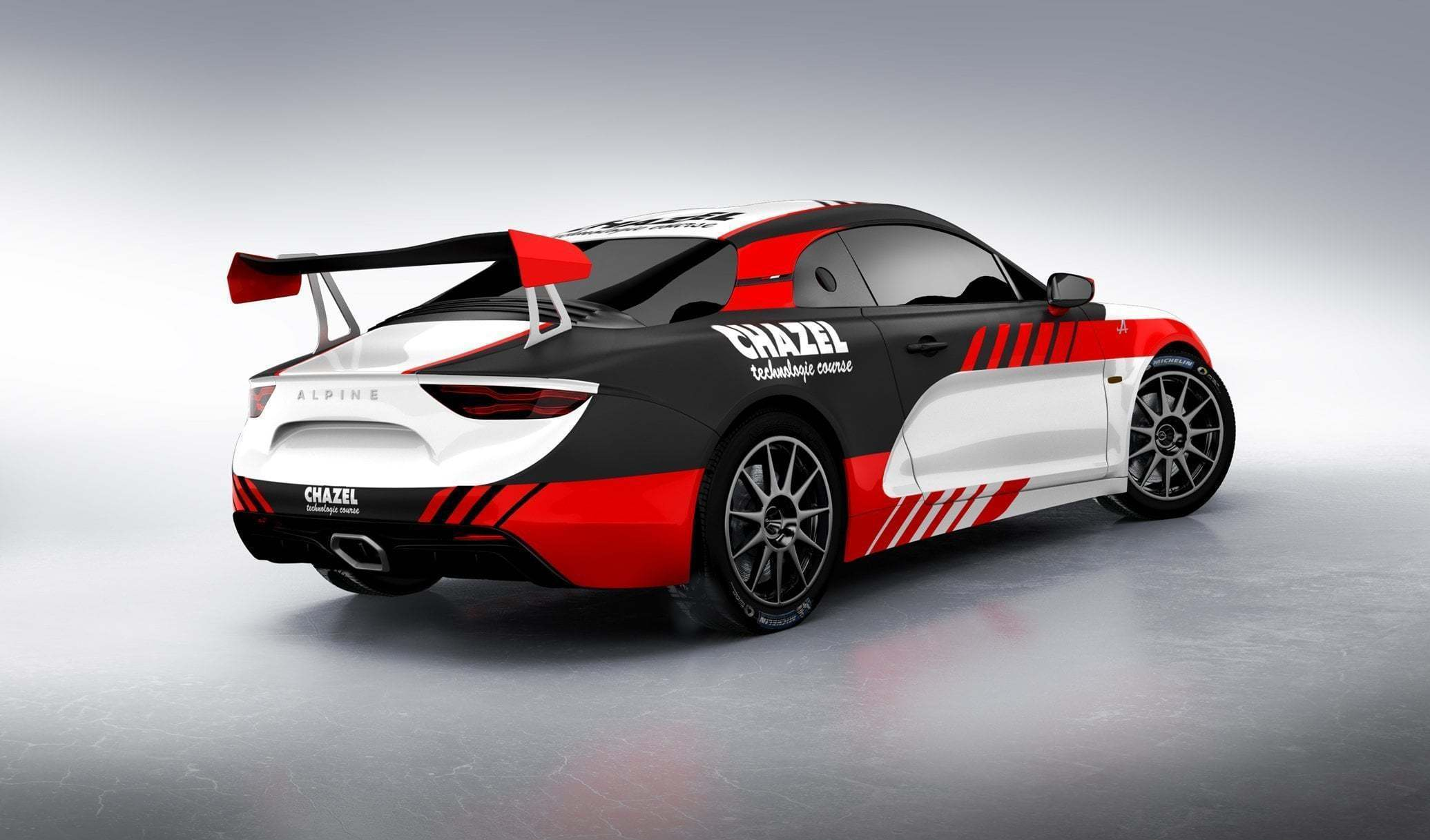 Alpine RGT CHAZEL 2   Le Team Chazel Technologie Course engagera une Alpine A110 R-GT en 2020