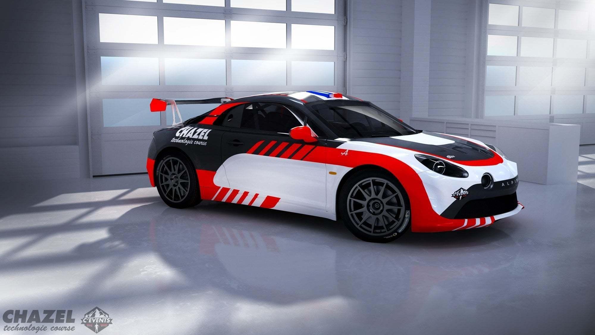 Alpine RGT CHAZEL   Le Team Chazel Technologie Course engagera une Alpine A110 R-GT en 2020