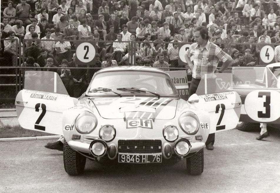 Championnat du mone rallye 1973 Alpine A110 Thérier Darniche Piot Nicolas 1 | Championnat du Monde des Rallyes 1973: Le Triomphe d'Alpine