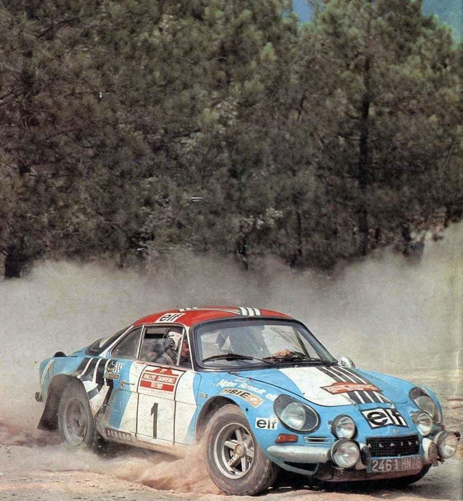 Championnat du mone rallye 1973 Alpine A110 Thérier Darniche Piot Nicolas 11 | Championnat du Monde des Rallyes 1973: Le Triomphe d'Alpine