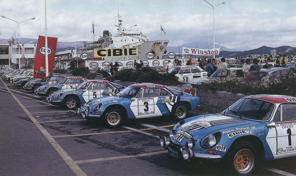 Championnat du mone rallye 1973 Alpine A110 Thérier Darniche Piot Nicolas 12 | Championnat du Monde des Rallyes 1973: Le Triomphe d'Alpine