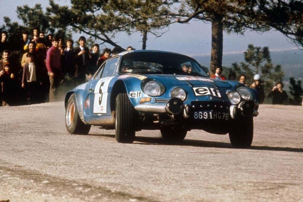 Championnat du mone rallye 1973 Alpine A110 Thérier Darniche Piot Nicolas 14 | Championnat du Monde des Rallyes 1973: Le Triomphe d'Alpine