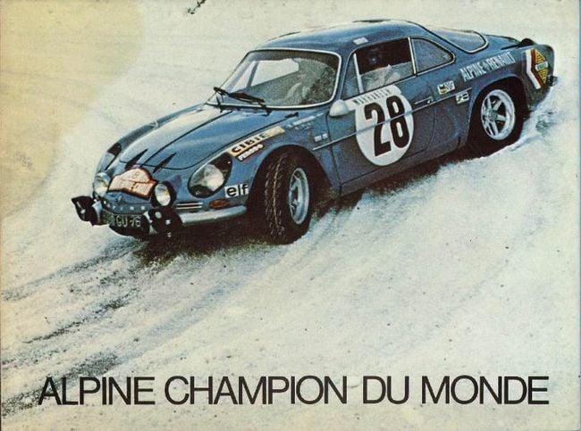 Championnat du mone rallye 1973 Alpine A110 Thérier Darniche Piot Nicolas 17 | Championnat du Monde des Rallyes 1973: Le Triomphe d'Alpine