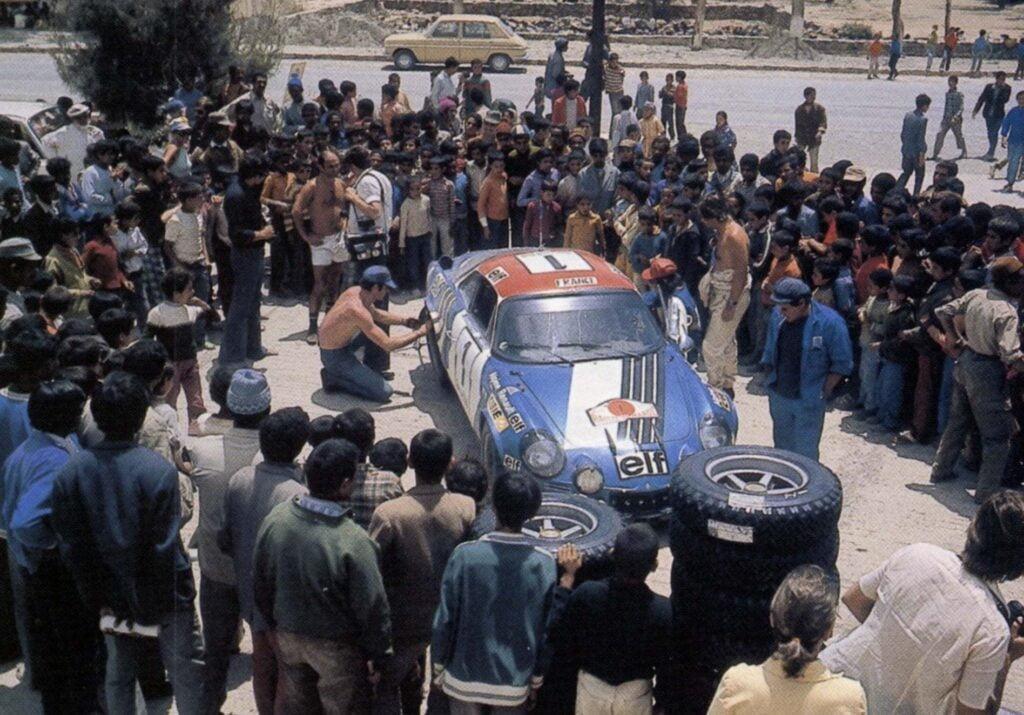 Championnat du mone rallye 1973 Alpine A110 Thérier Darniche Piot Nicolas 19 | Championnat du Monde des Rallyes 1973: Le Triomphe d'Alpine