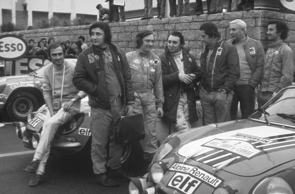 Championnat du mone rallye 1973 Alpine A110 Thérier Darniche Piot Nicolas 2 | Championnat du Monde des Rallyes 1973: Le Triomphe d'Alpine