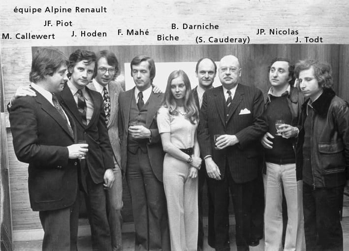 Championnat du mone rallye 1973 Alpine A110 Thérier Darniche Piot Nicolas 22 | Championnat du Monde des Rallyes 1973: Le Triomphe d'Alpine
