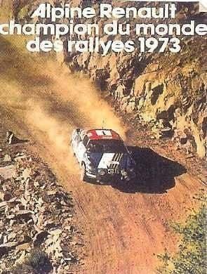 Championnat du mone rallye 1973 Alpine A110 Thérier Darniche Piot Nicolas 23 | Championnat du Monde des Rallyes 1973: Le Triomphe d'Alpine