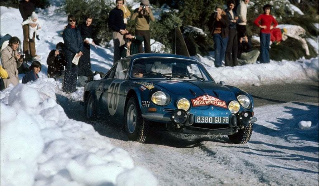 Championnat du mone rallye 1973 Alpine A110 Thérier Darniche Piot Nicolas 5 | Championnat du Monde des Rallyes 1973: Le Triomphe d'Alpine