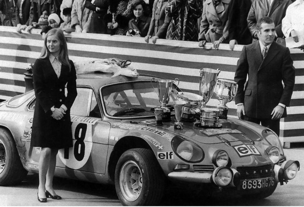 Championnat du mone rallye 1973 Alpine A110 Thérier Darniche Piot Nicolas 8 | Championnat du Monde des Rallyes 1973: Le Triomphe d'Alpine