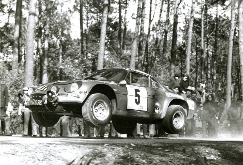 Championnat du mone rallye 1973 Alpine A110 Thérier Darniche Piot Nicolas 9 | Championnat du Monde des Rallyes 1973: Le Triomphe d'Alpine