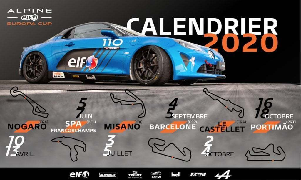 ea02070c 9f4f 4337 bb54 45b4031c749b | L'Alpine Elf Europa Cup se tourne vers 2020 !