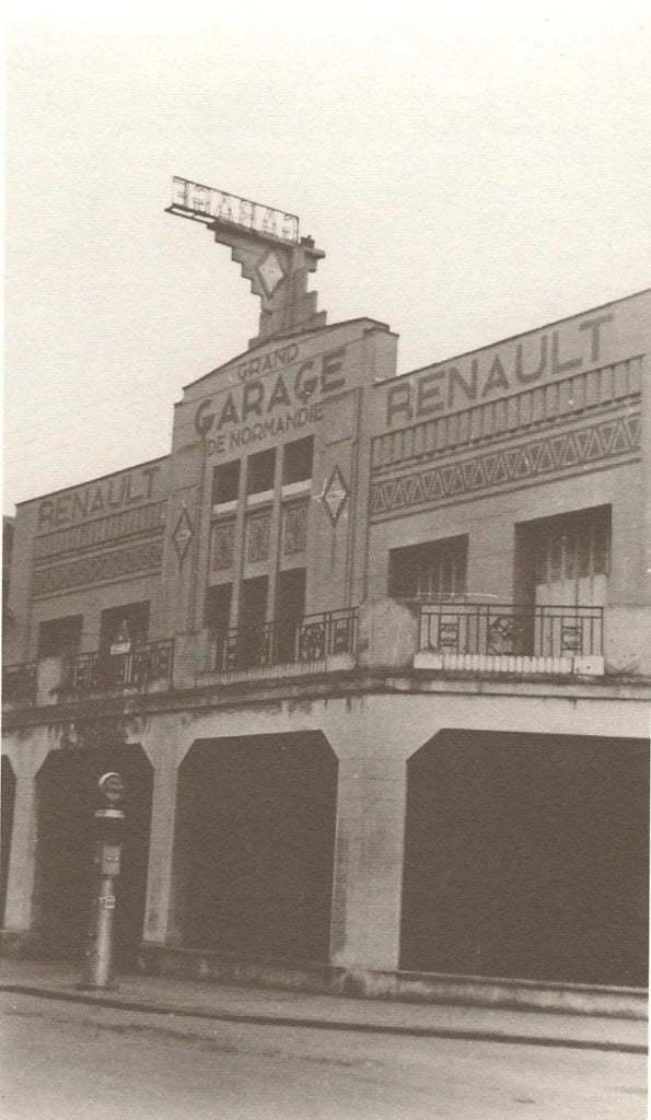 Garage Renault Rédélé Dieppe rue Thiers | Dieppe: Le garage Renault de Jean Rédélé va disparaître