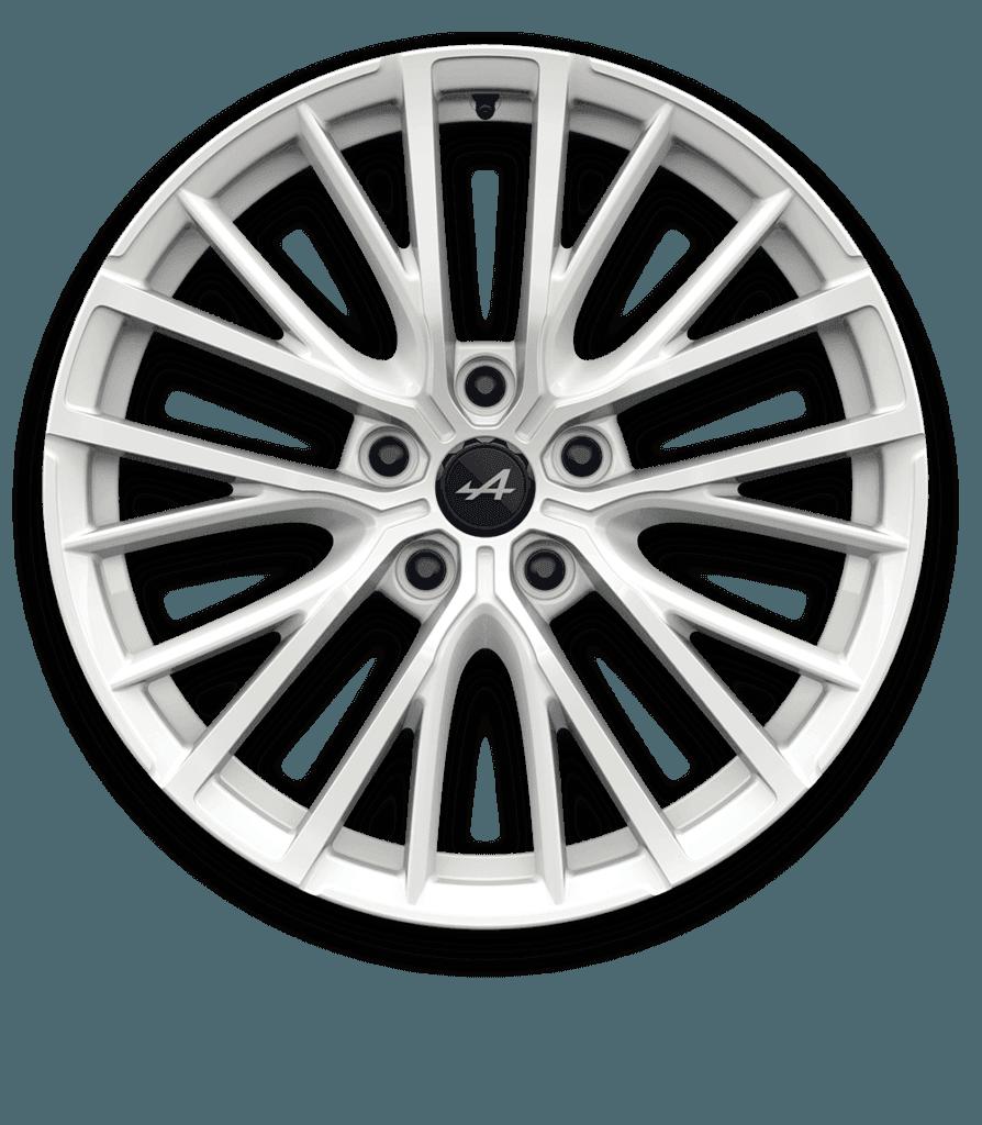 Alpine A110 - Jante GT Race Blanc Brillant