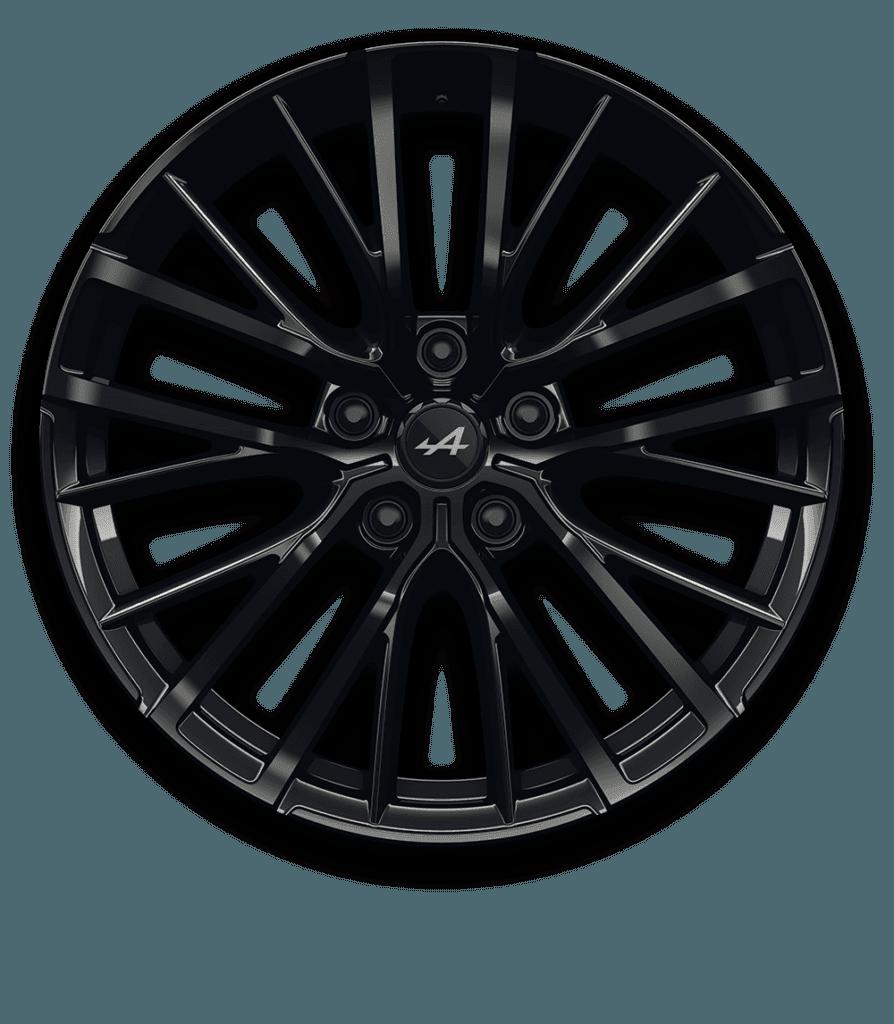 Alpine A110 - Jante GT Race Noir Brillant