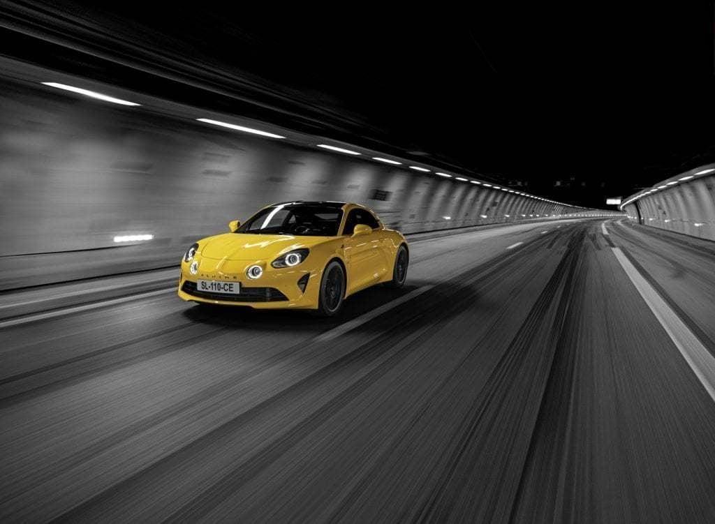 Alpine A110 Color Edition 2020 1024x751 - Alpine A110 Color Édition: le jaune tournesol de retour en 2020 !