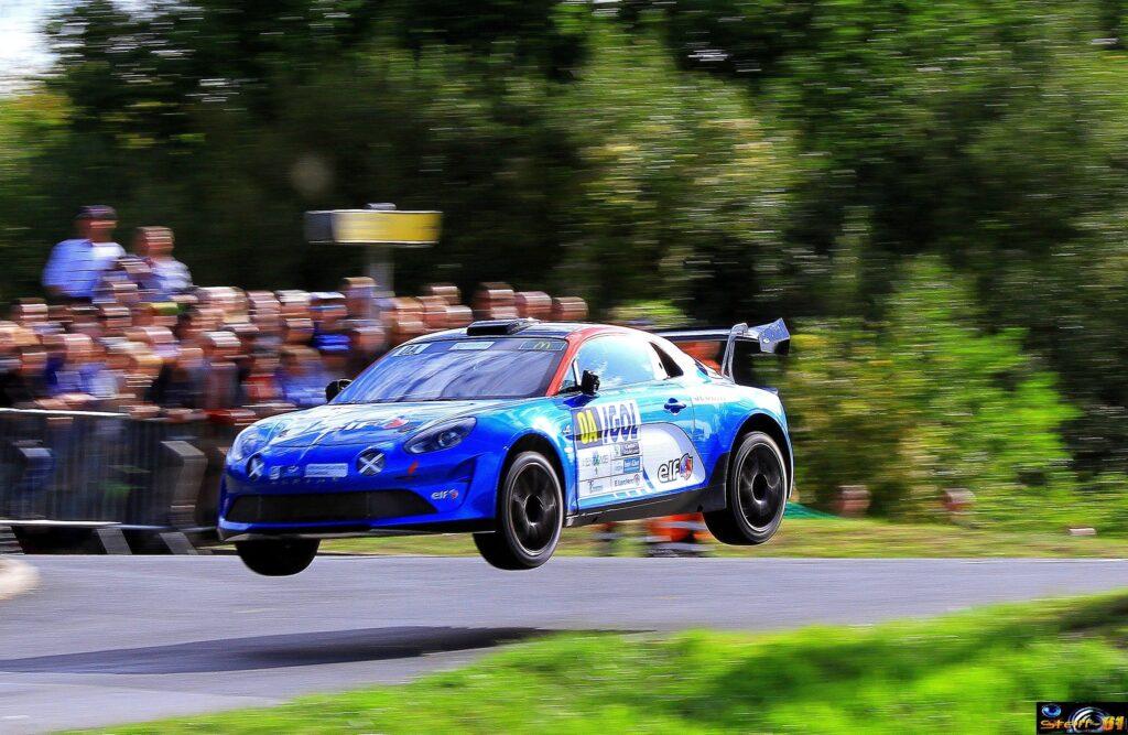 Alpine A110 Rally Manu Guigou Saut | Alpine A110 Rally Edition: annonce d'un retour en WRC (poisson d'avril !)