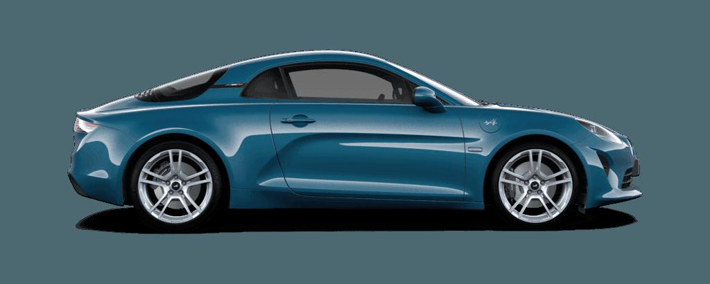 Alpine A110 - Bleu Sierra 078