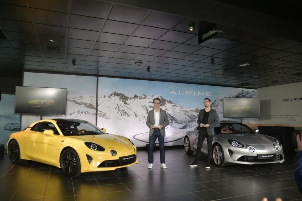 Conférence presse Alpine A110 Légende GT 2020 1024x683 - Alpine A110 Légende GT:  édition limitée à 400 exemplaires