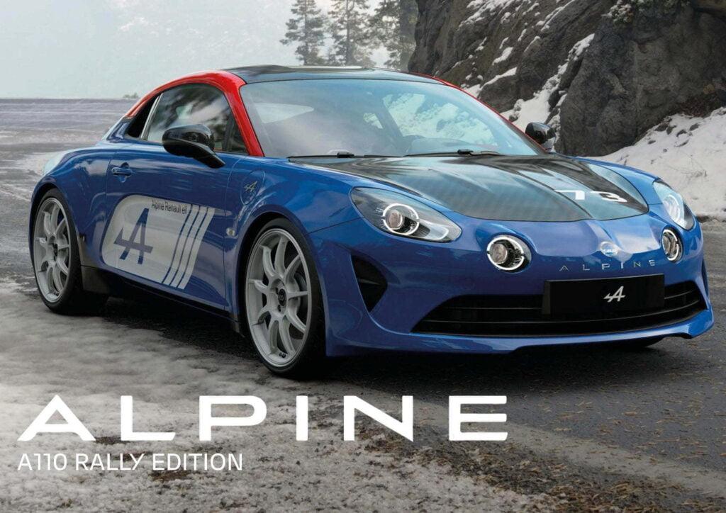 Alpine A110 Rally Edition 2020