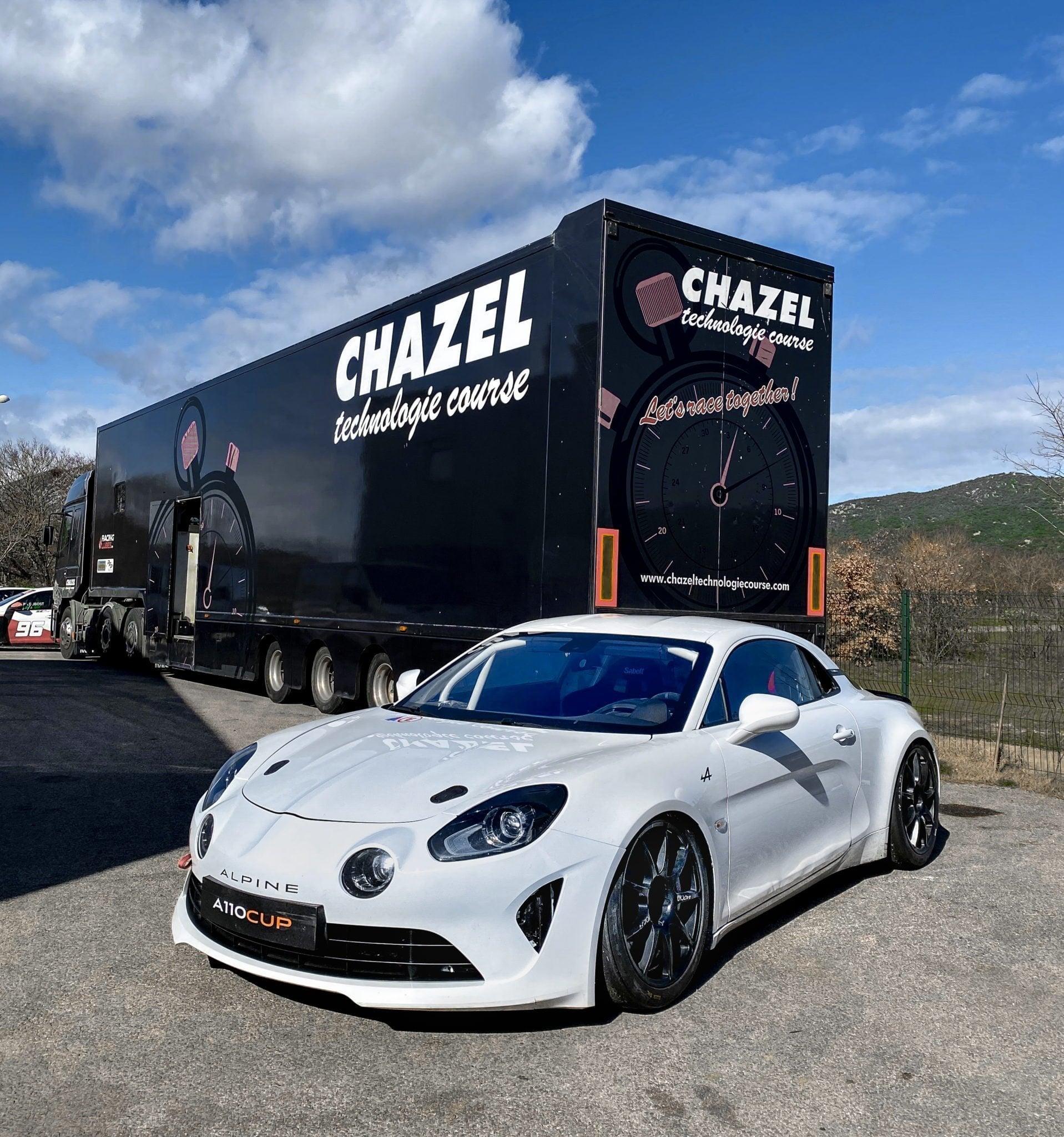Rencontre avec Louis Chazel et l'arrivée de l'Alpine A110 au cœur du team Chazel 1