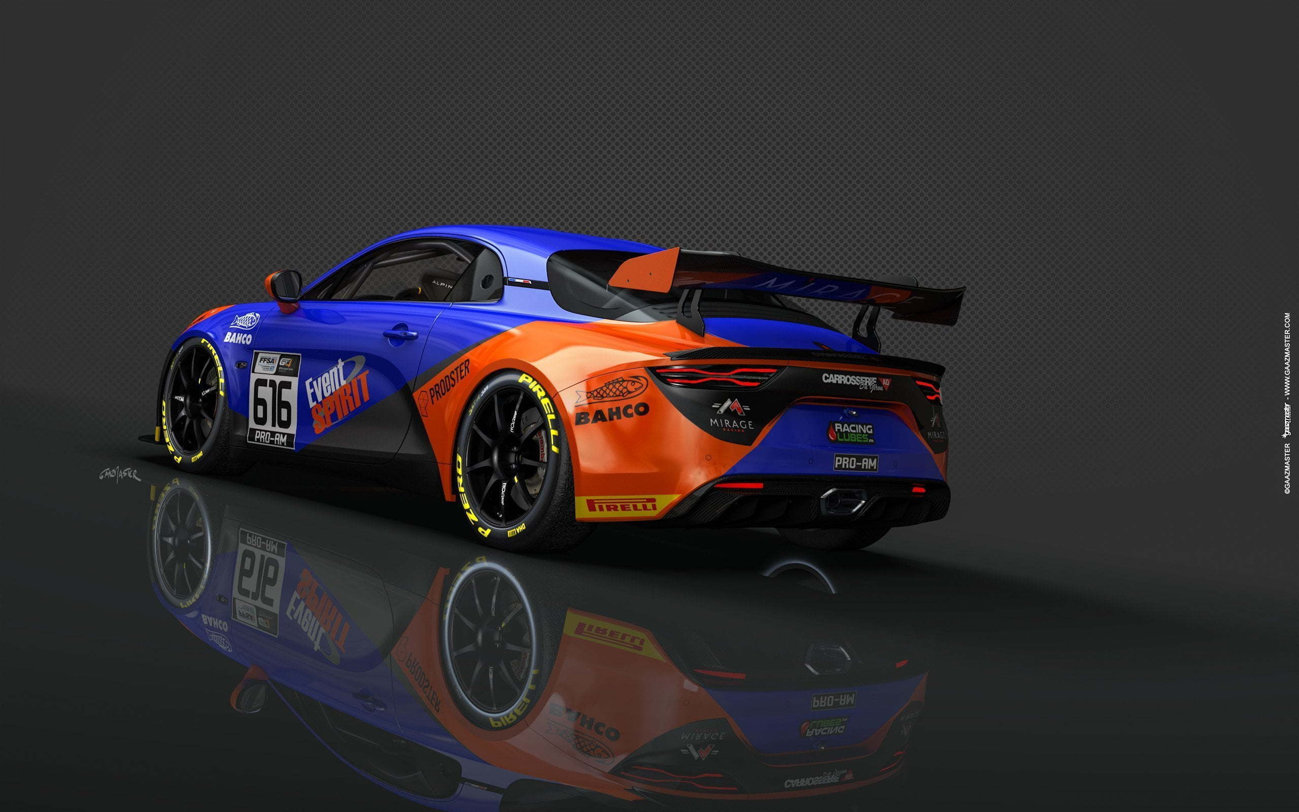 Alpine A110 GT4 Mirage Racing Iannetta