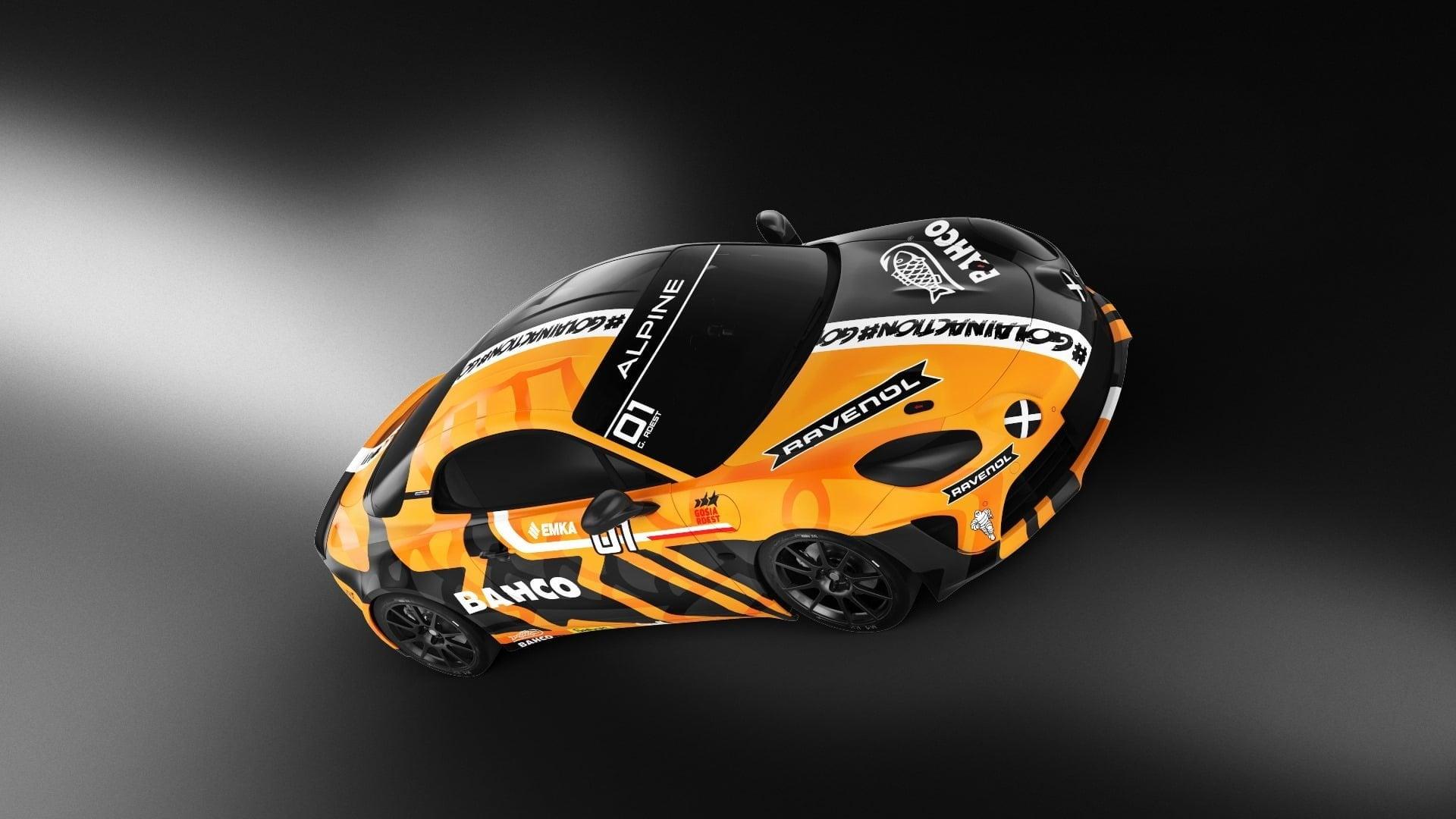 Alpine A110 Cup Elf Europa Gosia Rest Katowice 2020