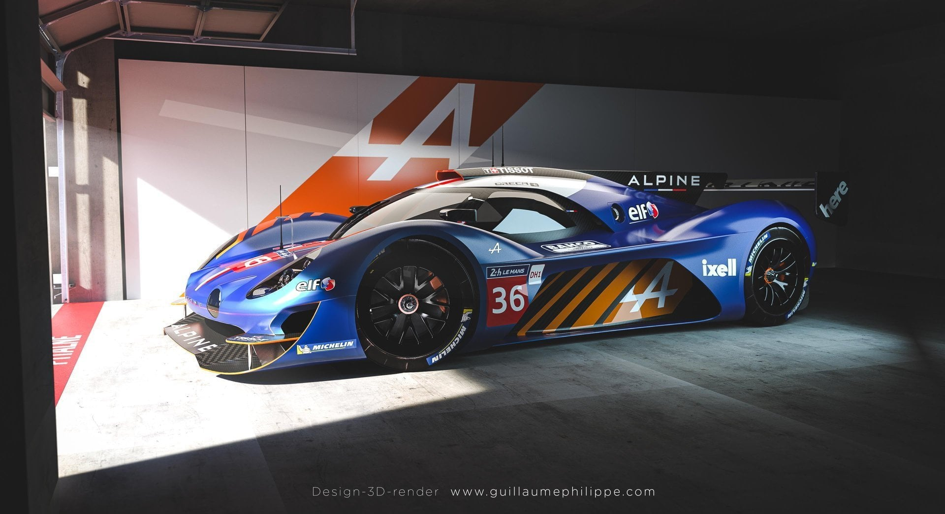 Alpine A480 LMDh - Guillaume Philippe