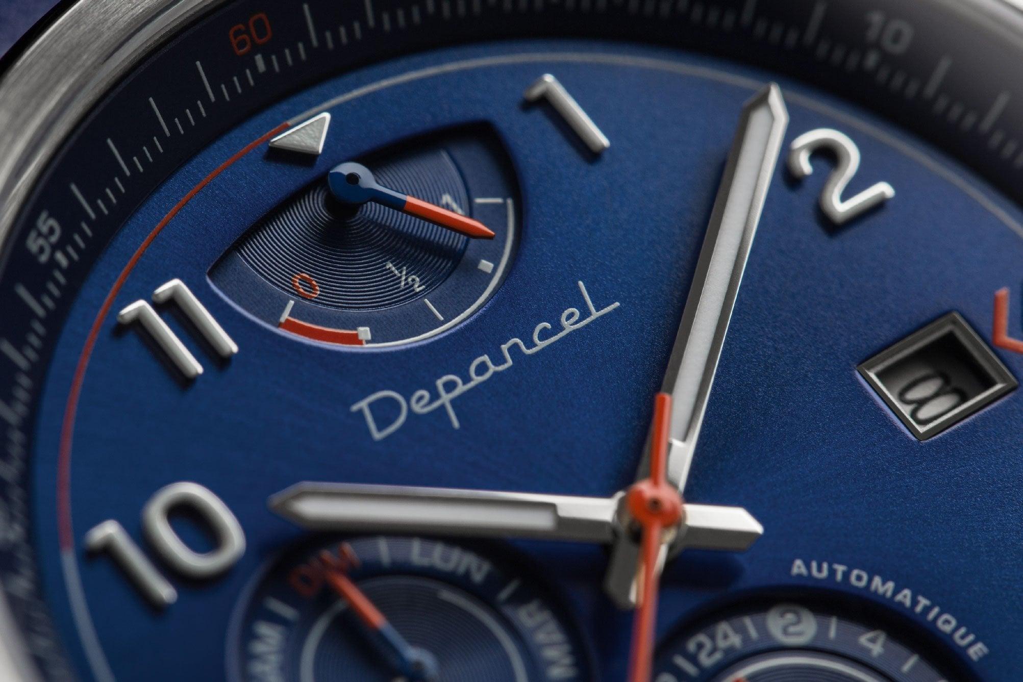 Depancel AUTO110 Close Up 2 | Depancel AUTO 110: l'inspiration bleue