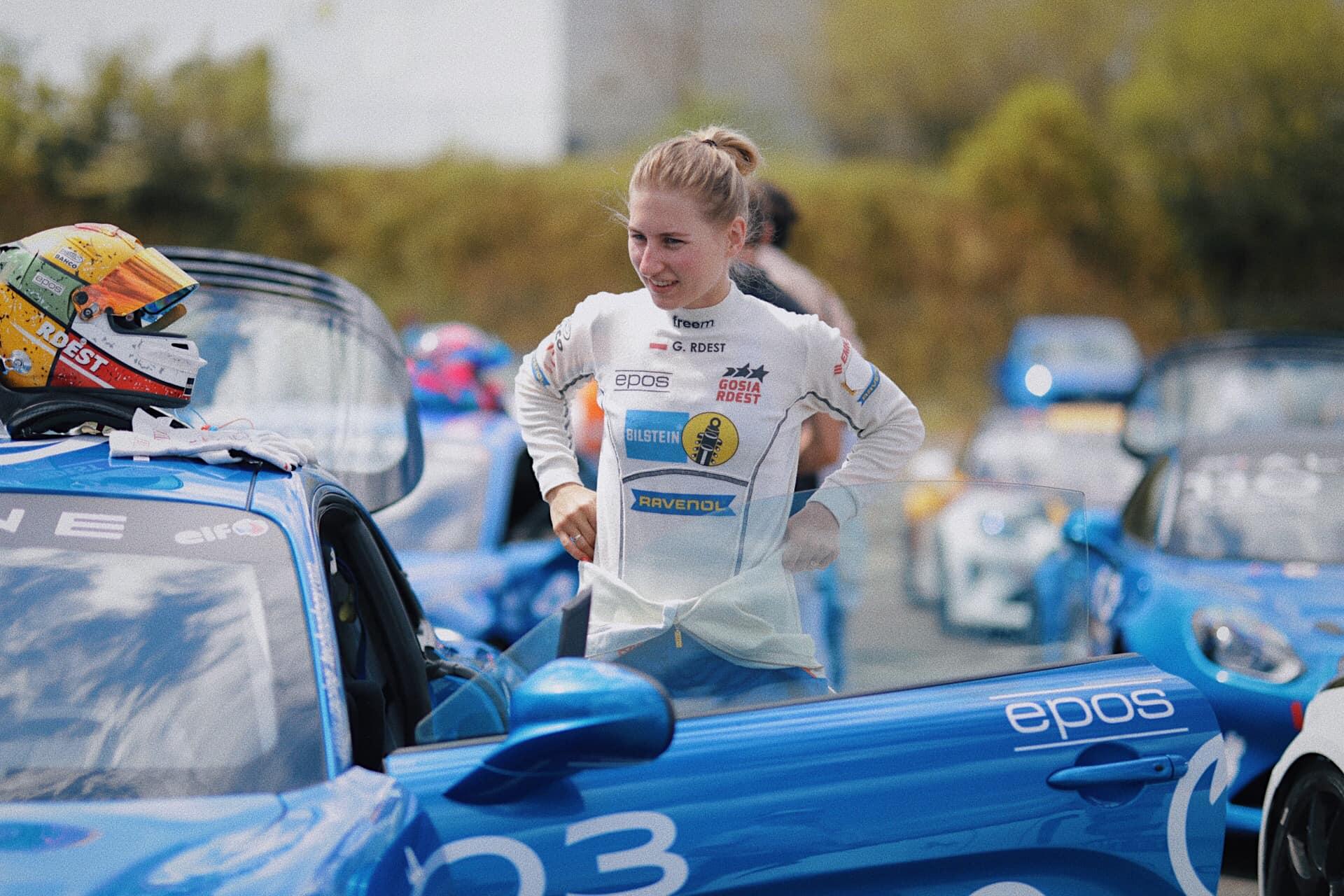 Alpine A110 CUP Racing Technology Gosia Rdest Nogaro 2020 7 | Alpine Elf Europa Cup 2020: Herrero et Traynard au sommet à Nogaro