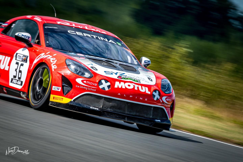 Alpine A110 GT4 Bodemer AUto Nicolas Prost Nogaro 2020 2 | FFSA GT 2020: sept Alpine A110 GT4 engagées à Nogaro !