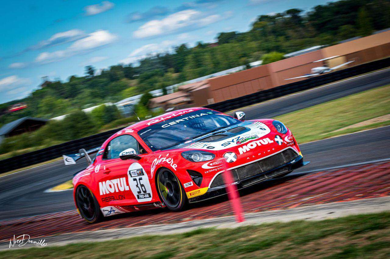 Alpine A110 GT4 Bodemer AUto Nicolas Prost Nogaro 2020 3 | FFSA GT 2020: sept Alpine A110 GT4 engagées à Nogaro !
