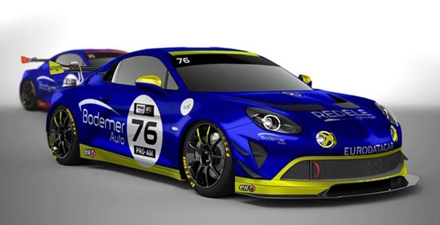 Alpine A110 GT4 Jean Charles Redele Laurent Coubard Bodemer 2020 1 | FFSA GT 2020 : les Alpine A110 GT4 filent au Paul Ricard