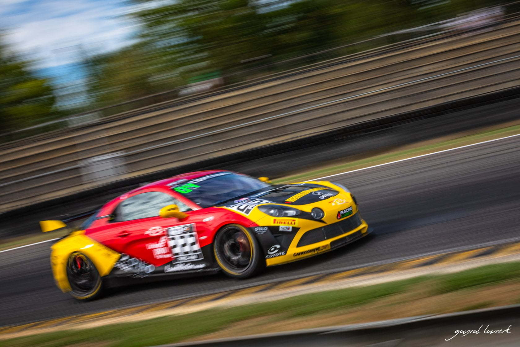 Alpine A110 GT4 Mirage Racing Nogaro 2020 2 | FFSA GT 2020 : les Alpine A110 GT4 filent au Paul Ricard