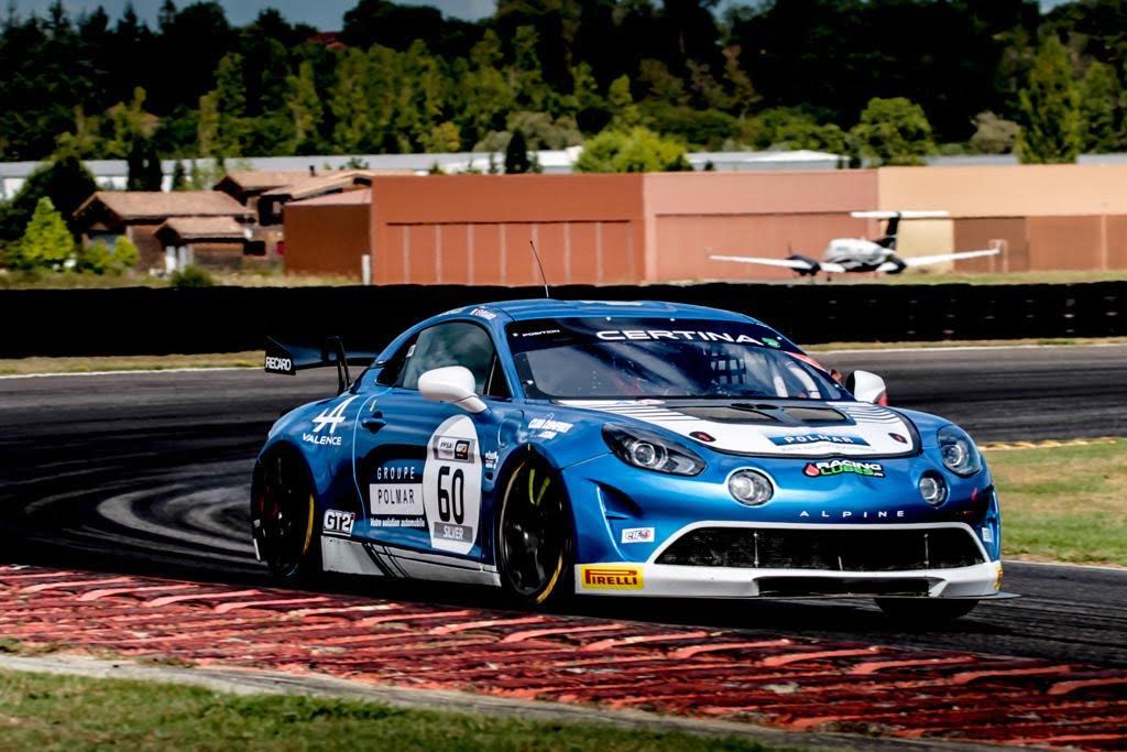 Alpine A110 GT4 Paul Evrard Nogaro 2020 | FFSA GT 2020: sept Alpine A110 GT4 engagées à Nogaro !