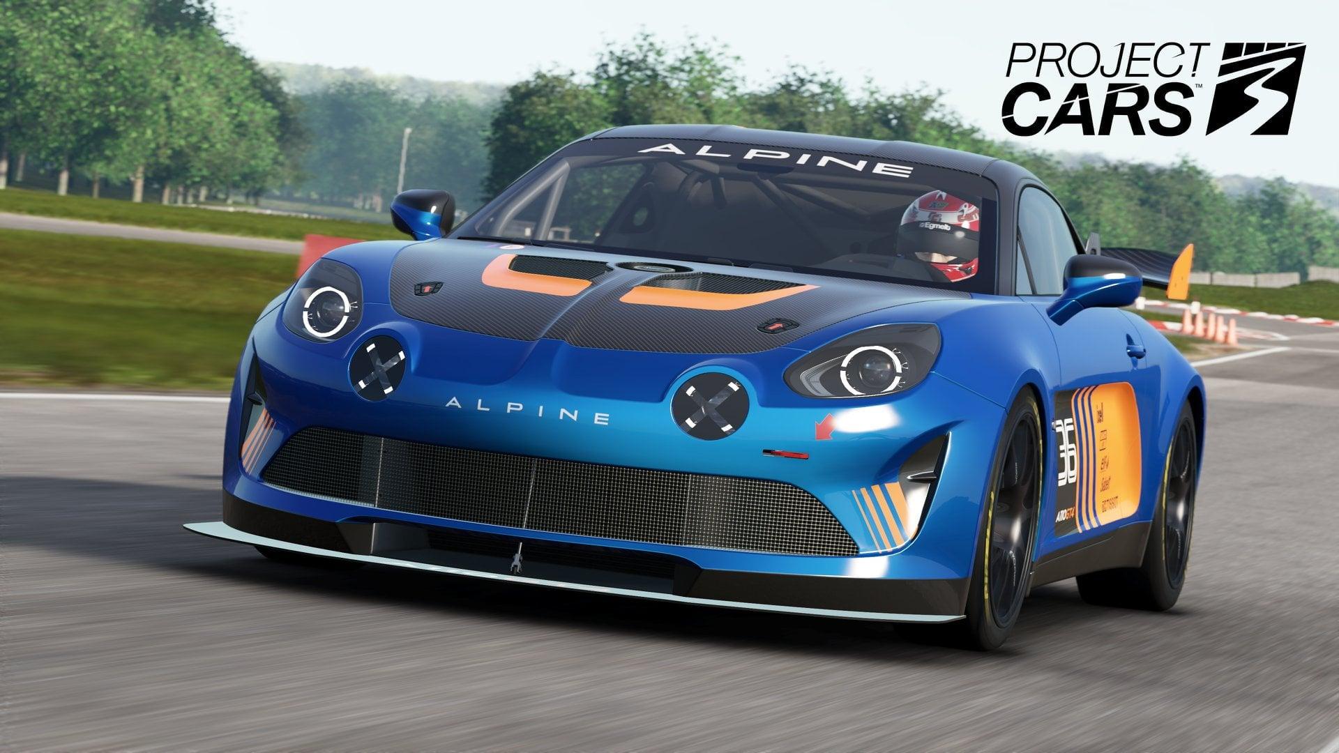 Alpine A110 GT4 Project cars 3 2020 3 | Project Cars 3: Alpine A110S et GT4 au programme