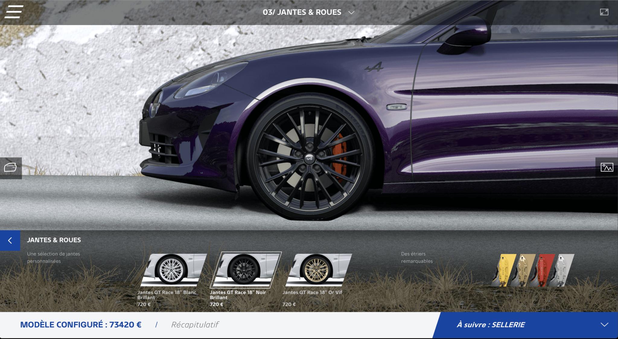 Atelier Alpine A110 Configurateur 2020 1 | Atelier Alpine: le configurateur fait peau neuve en 2020