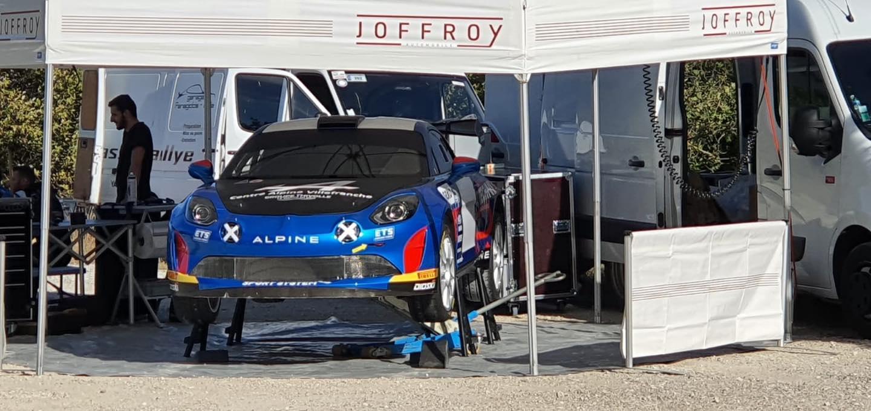 Emmanuel Guigou Alpine A110 Rally RGT 10 | Alpine A110 RALLY: le Rallye Mont-Blanc Morzine 2020