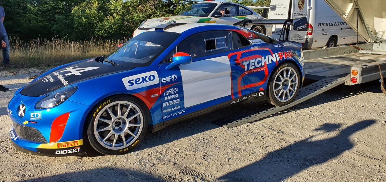 Emmanuel Guigou Alpine A110 Rally RGT 9 | Manu Guigou sacré Champion de France en Alpine A110 RGT
