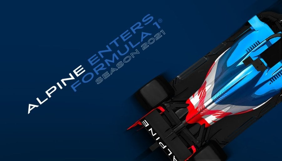 ALPINE F1® TEAM formula 1 2020 2021