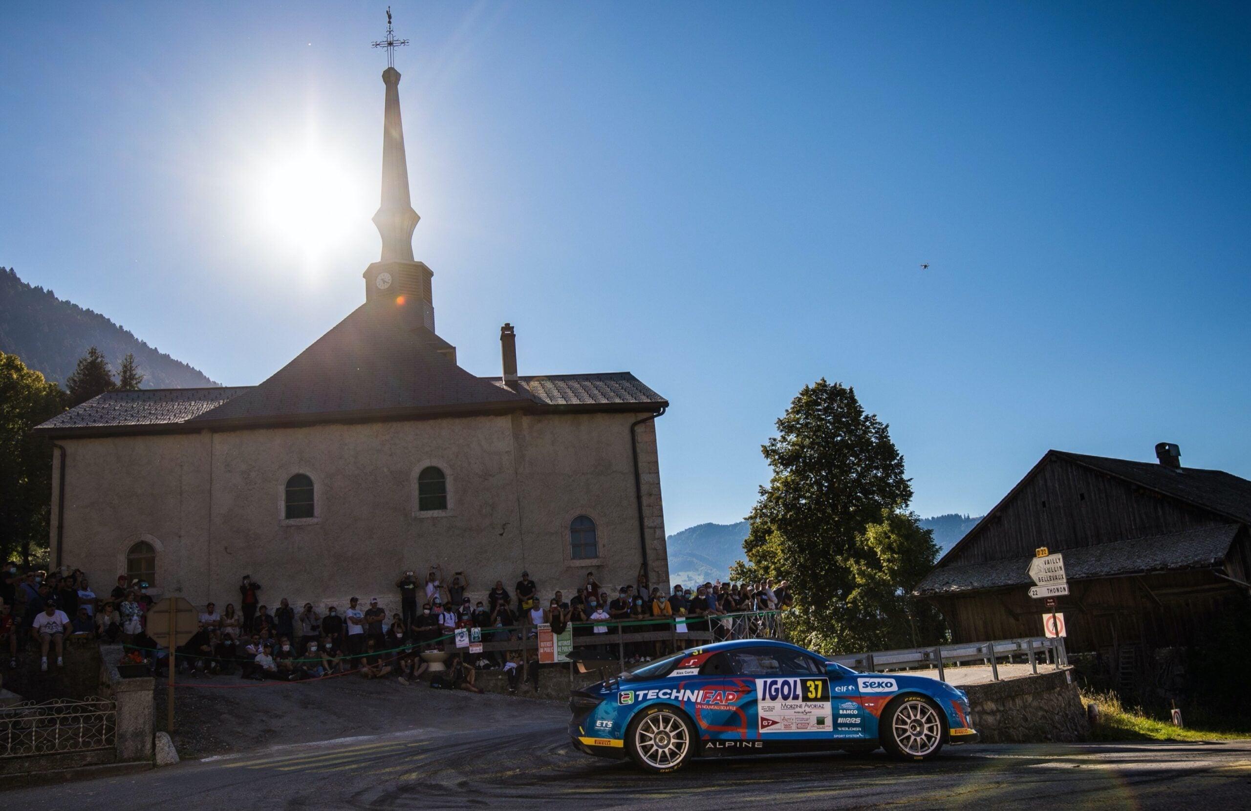 Alpine A110 Rally CHampionnat de France Manu Guigou 1 scaled | Trophée Alpine Elf Rally de retour en 2021