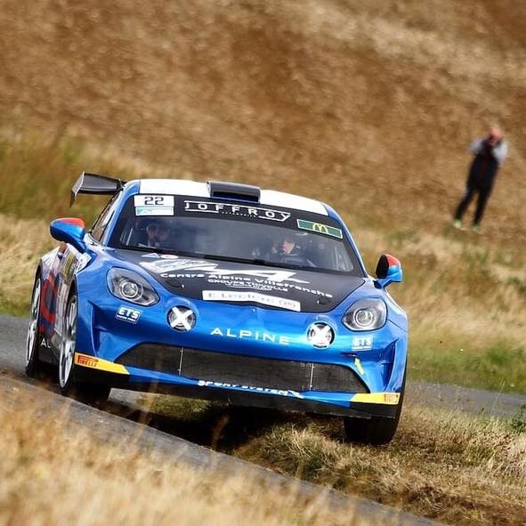 Alpine A110 Rally CHampionnat de France Manu Guigou 4 | Manu Guigou sacré Champion de France en Alpine A110 RGT