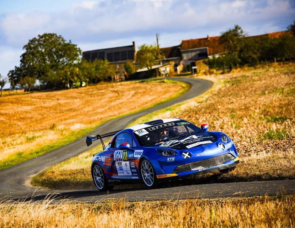 Alpine A110 Rally CHampionnat de France Manu Guigou 5 | Alpine A110 Rally : Manu Guigou favori au Rallye Cœur de France 2020
