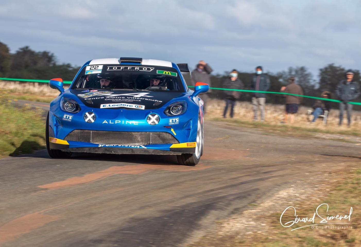 Alpine A110 Rally CHampionnat de France Manu Guigou 6 | Alpine A110 Rally : Manu Guigou favori au Rallye Cœur de France 2020