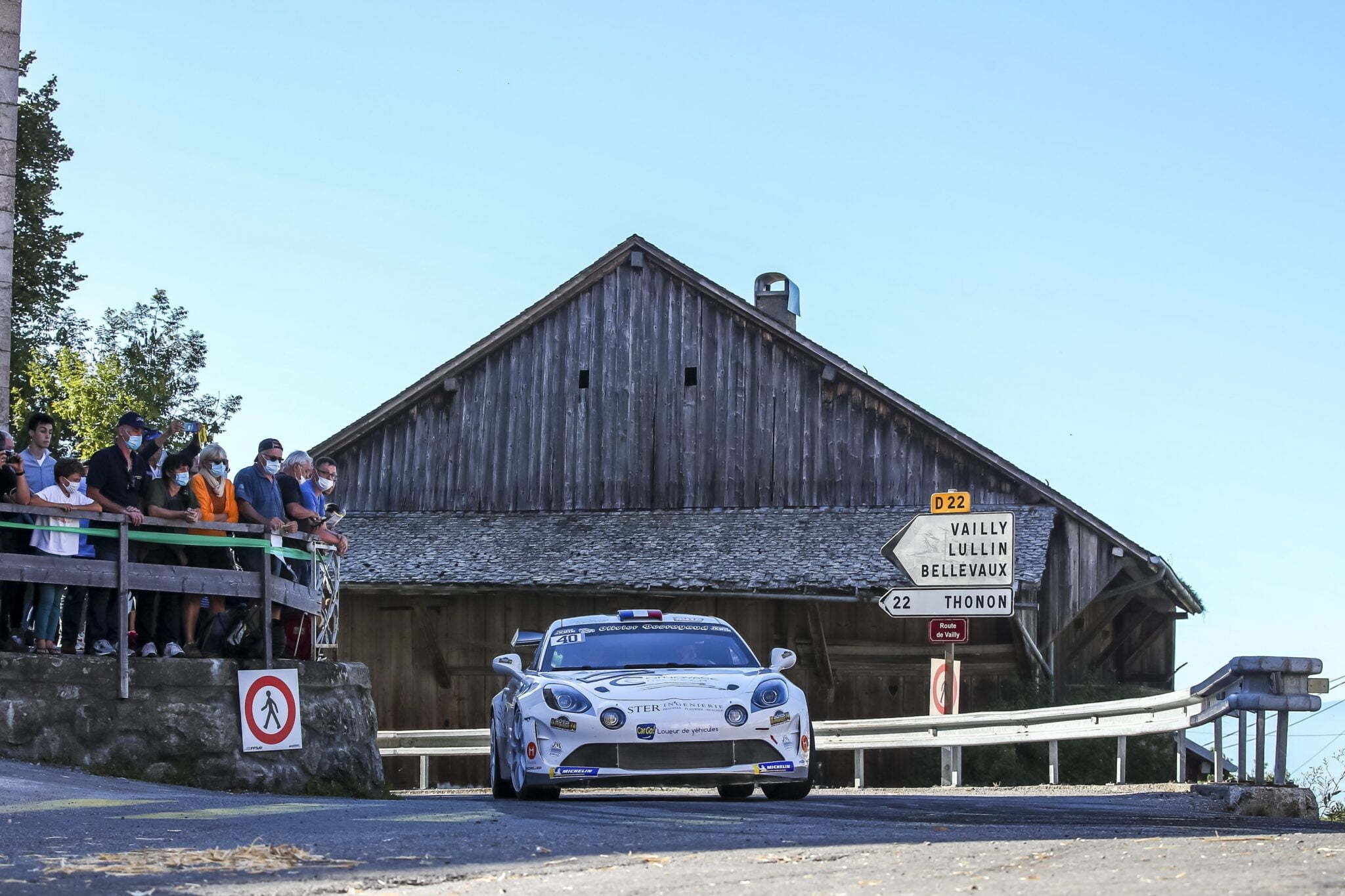 Alpine A110 Rally Mont Blanc Morzine Rallye FFSA 2020 2 | Alpine A110 Rally: Carton plein au rallye Mont-Blanc Morzine 2020