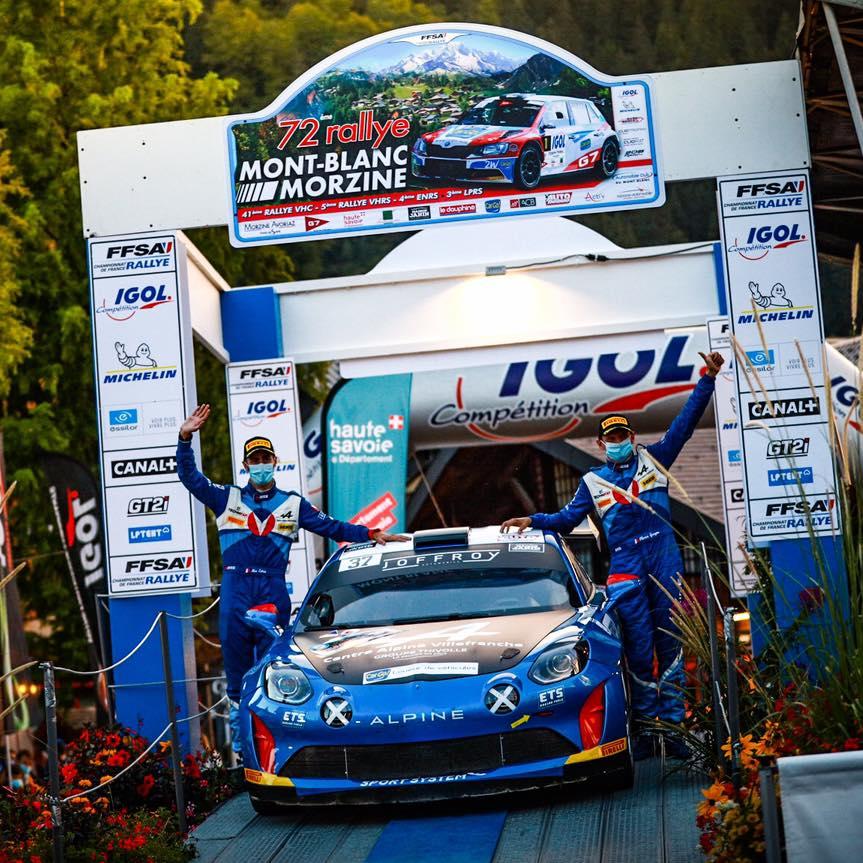 Alpine A110 Rally Mont Blanc Morzine Rallye FFSA 2020 4 | Alpine A110 Rally: Carton plein au rallye Mont-Blanc Morzine 2020