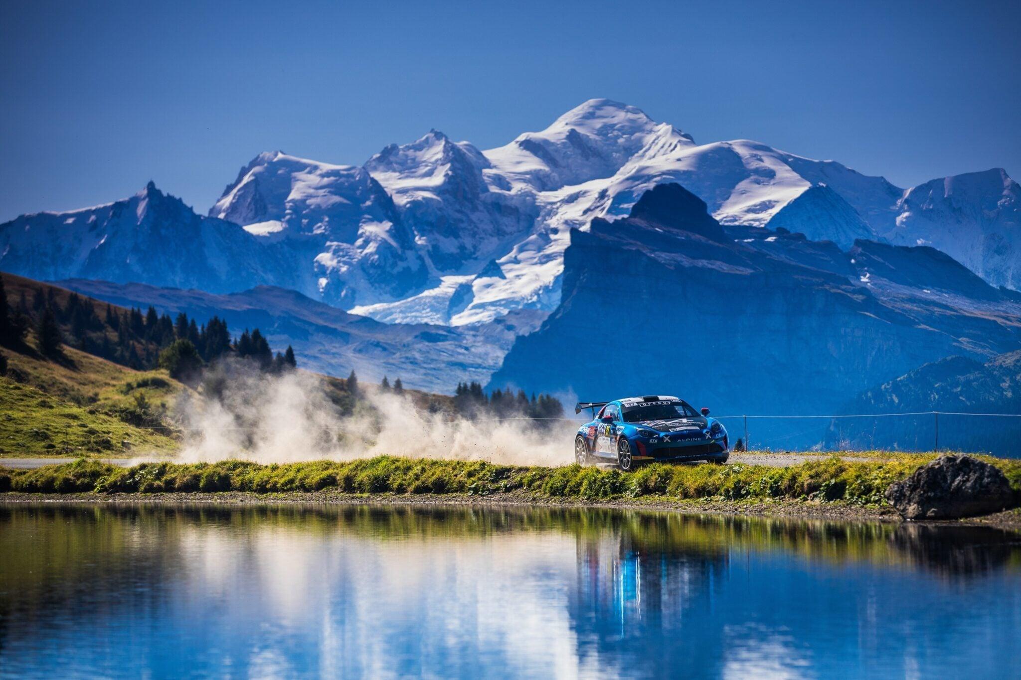 Alpine A110 Rally Mont Blanc Morzine Rallye FFSA 2020 8 | Alpine A110 Rally: Carton plein au rallye Mont-Blanc Morzine 2020