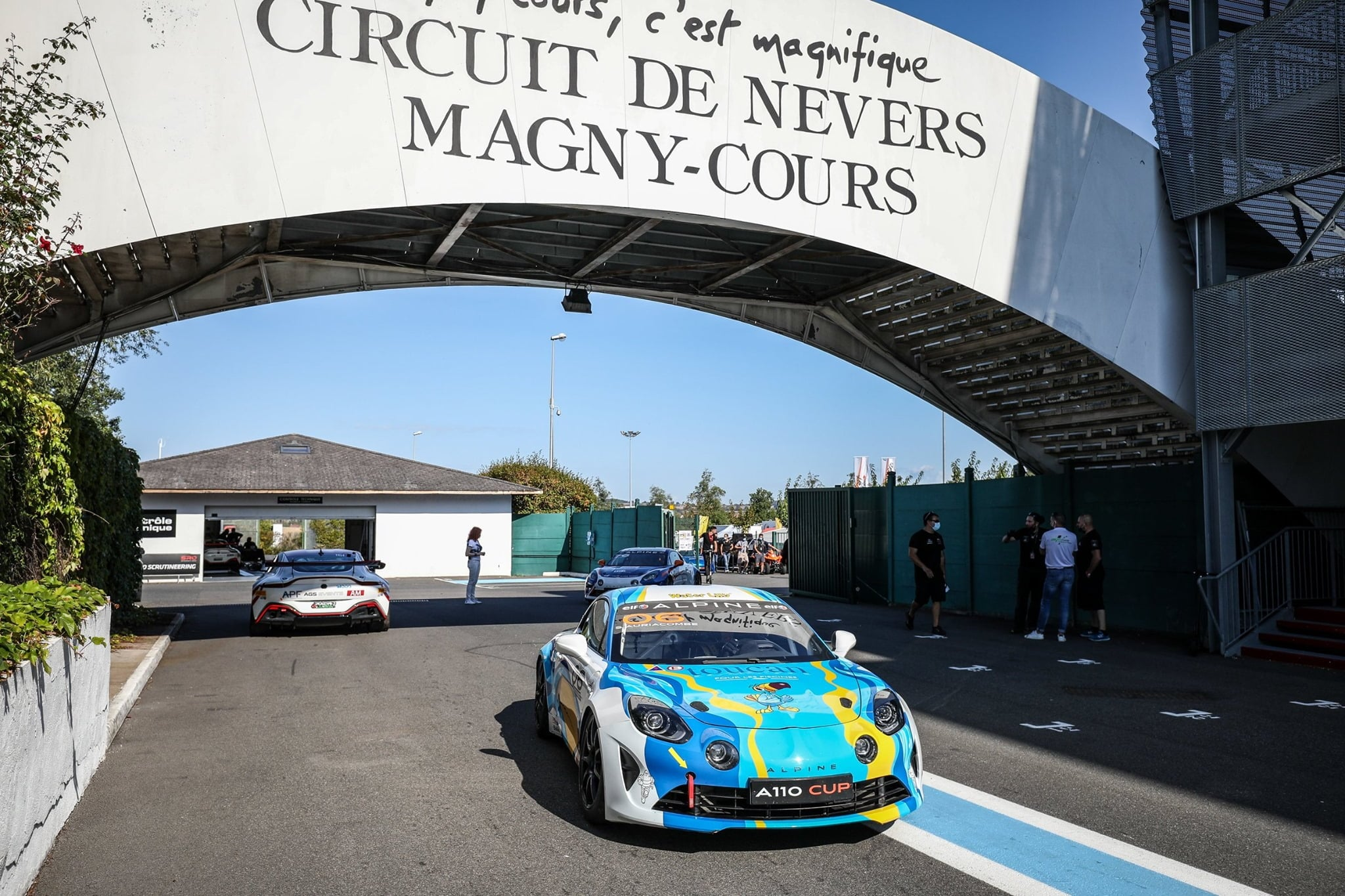 Alpine Elf Europa Cup 2020 Magny Cours A110 Cup 25 | Alpine Elf Europa Cup 2020: Jean-Baptiste Mela triomphe à Magny-Cours