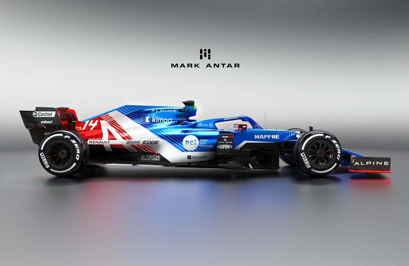 Alpine F1 Team 2020 / Mark Antar