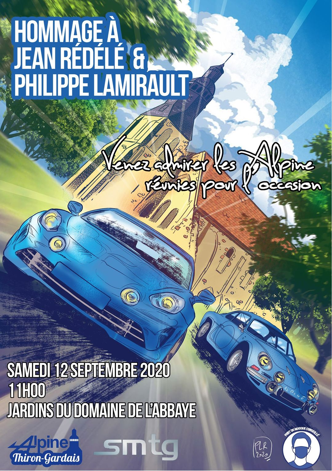 Alpine Thiron Gardais Hommage Redele Lamirault 2020 | Alpine Thiron-Gardais: Hommage à Jean Rédélé et Philippe Lamirault